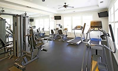 Fitness Weight Room, The Dorel at Laredo, 1