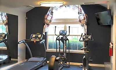 Fitness Weight Room, England Run North, 1