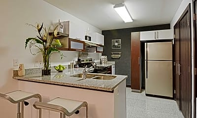 Kitchen, The District Apartments, 1