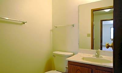 Bathroom, Southwood Apartments, 2