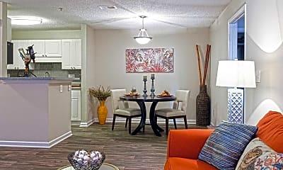 Living Room, Aqua at Sandy Springs, 1