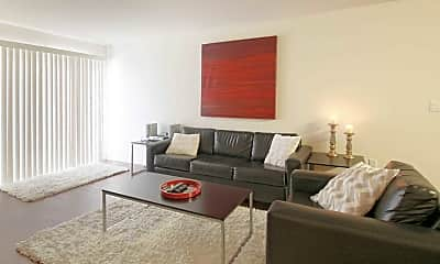 Living Room, Zuma Apartments, 1