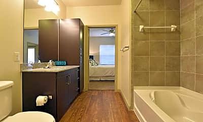 Bathroom, La Mariposa Apartment Homes, 2