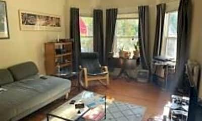 Living Room, 132 1/2 Oxford St, 1