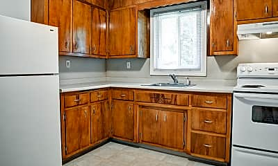 Kitchen, Woodlawn Apartments, 1