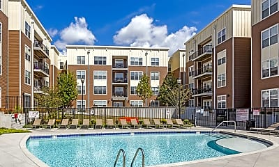 Pool, The Park on Morton - Per Bed Leases, 1