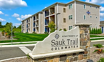 Community Signage, Apartments At Sauk Trail, 2