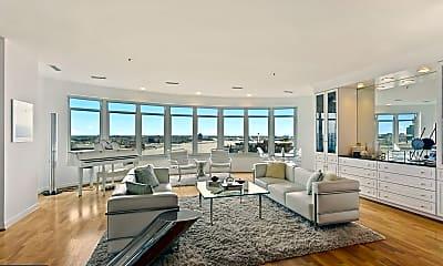 Living Room, 100 Harborview Dr PH2A, 0