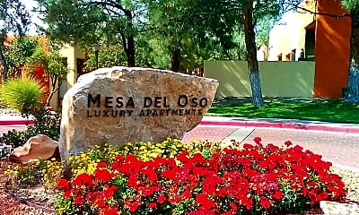 Community Signage, Mesa Del Oso, 1