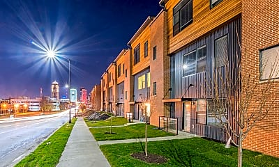 Building, Hubbell Townhomes, 1