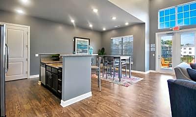 Kitchen, Parkway Flats, 1