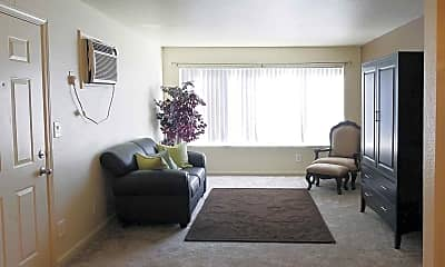 Living Room, Sun Valley Apartment Homes, 1