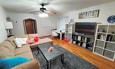 Living Room, 1001 19th St., 1