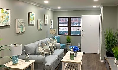 Living Room, 162 Beach 115th St 1F, 1