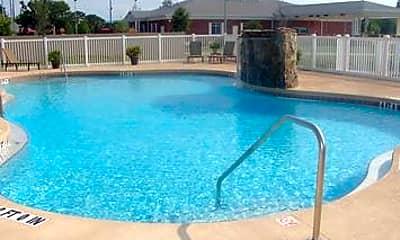 Pool, Harvard Condominiums, 2
