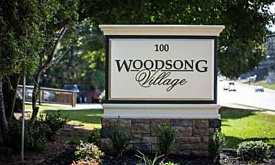 Community Signage, Woodsong VIllage, 2