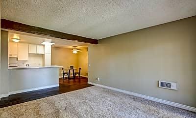 Living Room, Brookhollow Apartments, 0