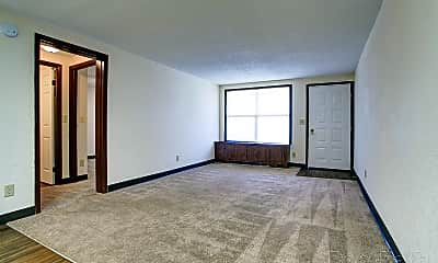 Living Room, Mulberry Apartments, 1
