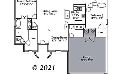 Patio / Deck, 3008 Crabapple Ln, 2