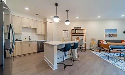 Kitchen, UHill Apartments, 0