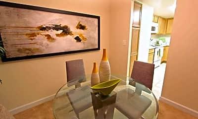 Dining Room, Wildwood Towers, 1