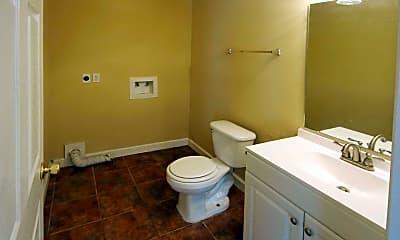 Bathroom, Cypress Lane Apartments, 2