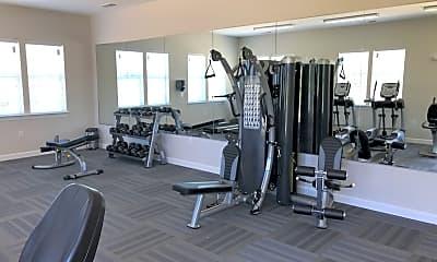 Fitness Weight Room, Fairway Village at Stoney Creek, 2