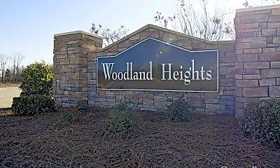 Community Signage, Woodland Heights of Burlington, 2