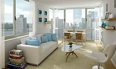 Living Room, 340 W 37th St, 2