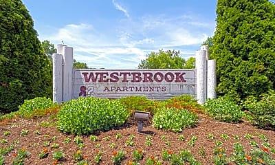 Community Signage, Westbrook Apartments, 2
