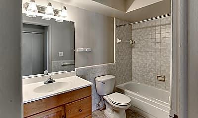 Bathroom, French Quarter Apartments, 2