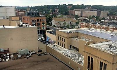 Building, 200 East 3rd St. Hotel Blackhawk Operator, LLC, 2