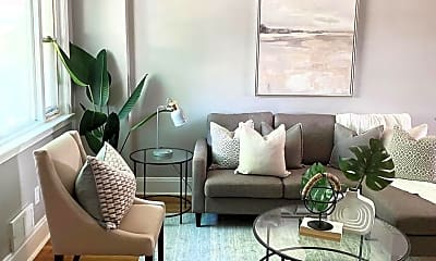 Living Room, 5019 Schaub Ave, 0