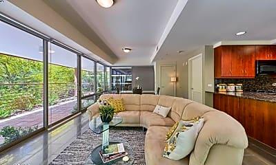 Living Room, 7137 E Rancho Vista Dr 2012, 1