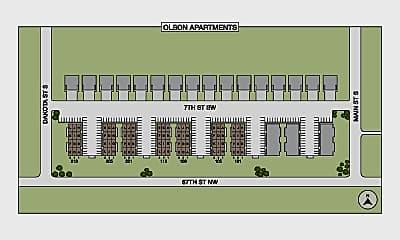 Olson Apartments, 2