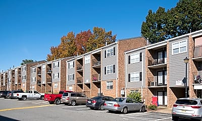 Building, Granite Park Apartments, 1