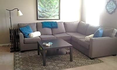Living Room, Glenwood Village Apartments, 1