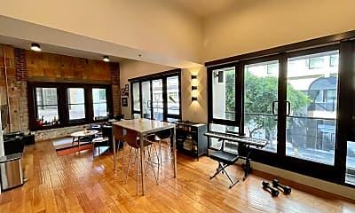 Living Room, 460 S Spring St 211, 1