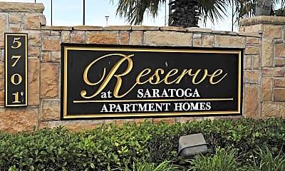 Community Signage, The Reserve at Saratoga, 1