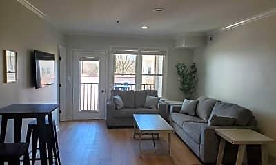 Living Room, 610 Hillsborough St 205, 1