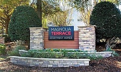 Community Signage, Magnolia Terrace, 0