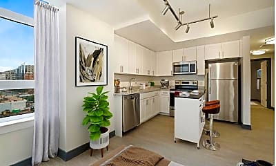 Kitchen, Liberty Place, 1