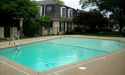 Pool, Deauville Apartments, 1