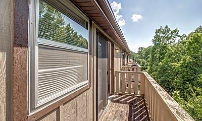 Patio / Deck, Stadium Apartments, 2