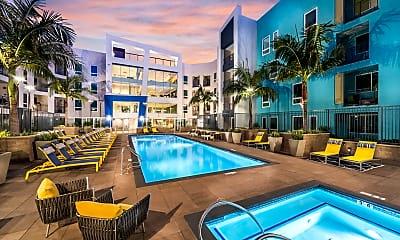 Pool, Vela on OX Apartments, 0