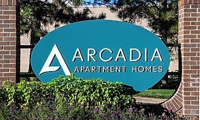 Community Signage, Arcadia Apartment Homes, 2