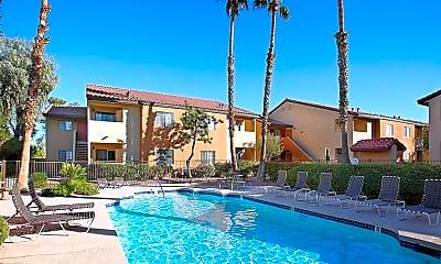 Pool, Ciel Apartments, 1
