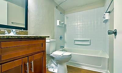 Bathroom, The Vine Apartments, 2
