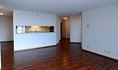 Living Room, One Ten Grant Apartments, 1