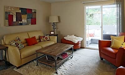 Living Room, The Terrace on Meridian, 1